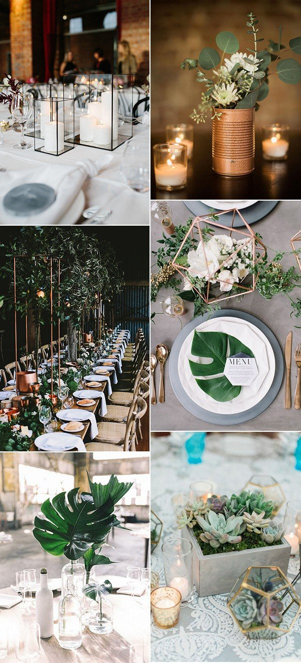 Trending12 Industrial Wedding Centerpiece Ideas for 2018  Oh Best Day Ever