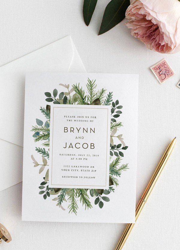 Top 10 Wedding Invitations We Love From Etsy For 2018 Oh Best Day Ever