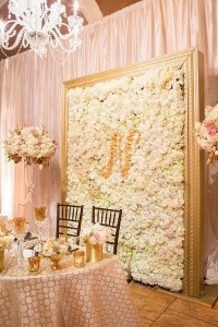 10 Brilliant Flower Wall Wedding Backdrops for 2018