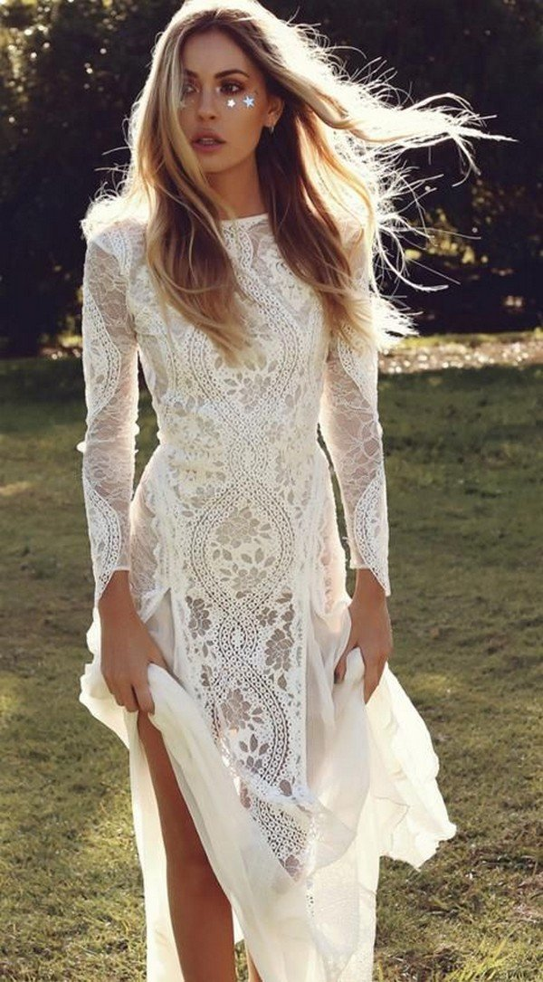 Top 18 Boho Wedding Dresses for 2018 Trends  Page 2 of 2  Oh Best Day Ever