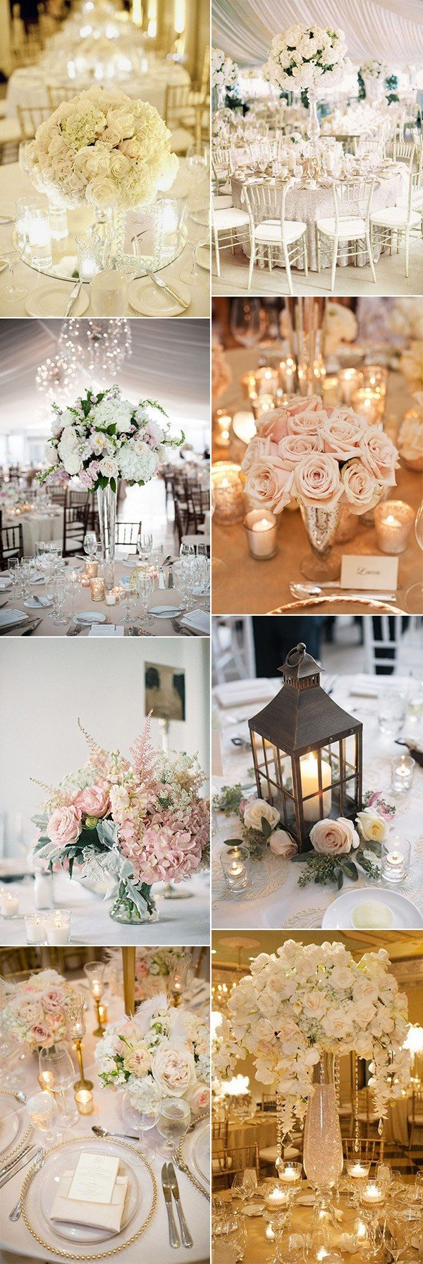 18 Elegant Wedding Centerpiece Ideas for 2018 Trends  Page 2 of 2  Oh Best Day Ever