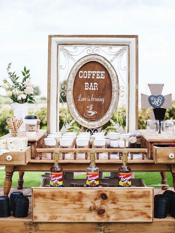 Trending15 Wedding Reception Bar Ideas for 2018  Page 2 of 2  Oh Best Day Ever