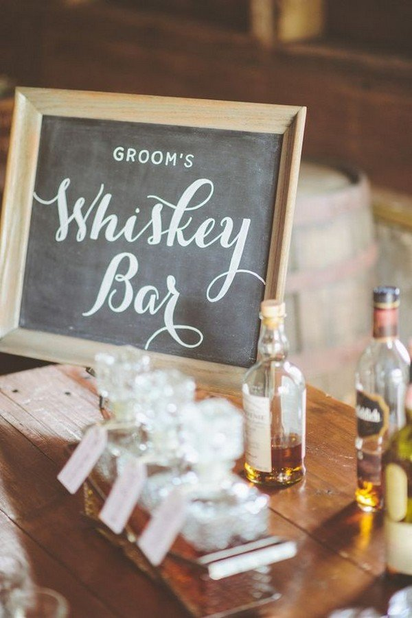 Trending15 Wedding Reception Bar Ideas for 2018  Oh Best Day Ever