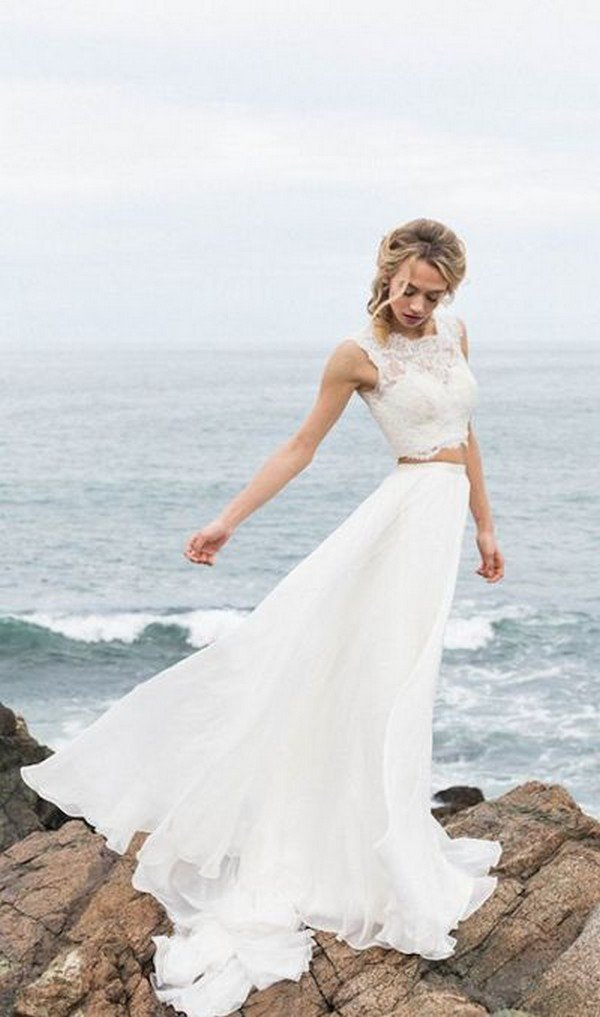 TrendingTop 10 Two Piece Wedding Dresses for 2018  Oh Best Day Ever