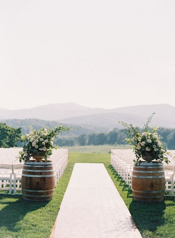 28 Chic Vineyard Themed Wedding Ideas for 2018  Oh Best Day Ever