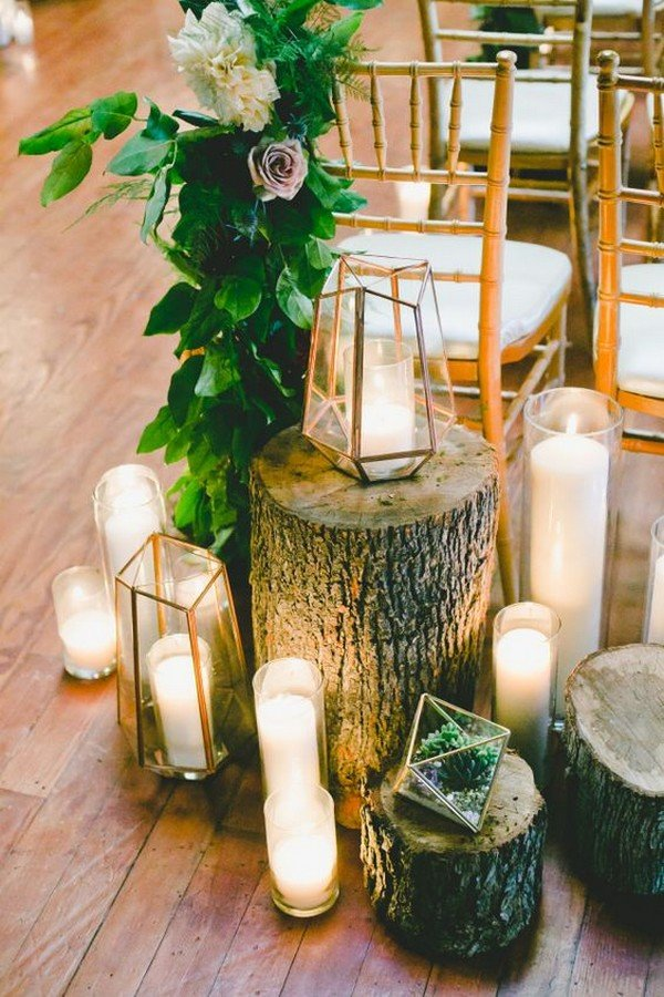 Bridal Table Decorations Reception