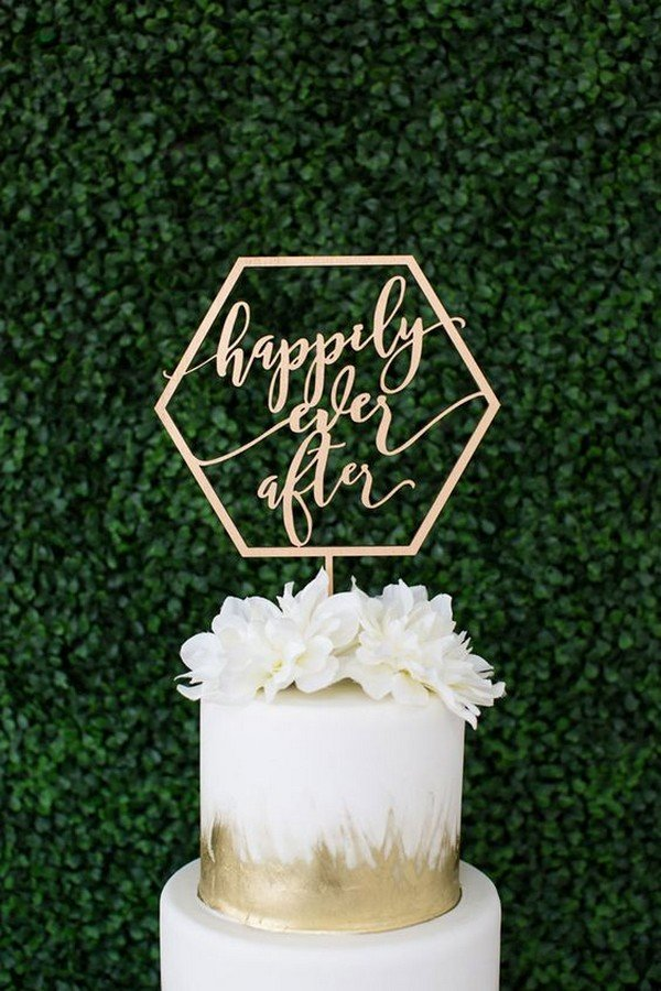 40 Chic Geometric Wedding Ideas for 2018 Trends  Page 5 of 6  Oh Best Day Ever
