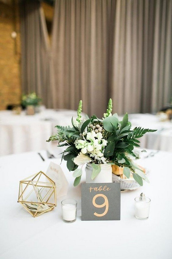 40 Chic Geometric Wedding Ideas for 2018 Trends  Page 2 of 6  Oh Best Day Ever