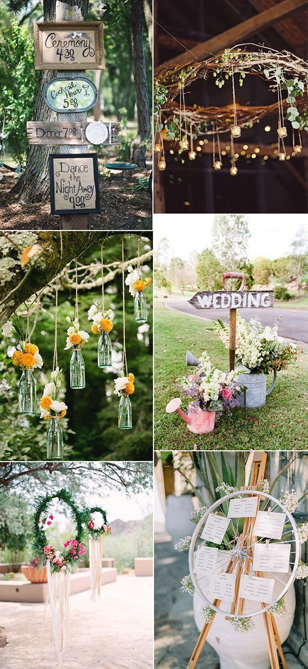 40 Boho Chic Outdoor Wedding Ideas  Page 4 of 5  Oh Best
