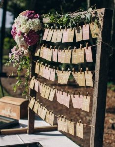 Trending wedding seating chart decoration ideas also rustic reception oh best day ever rh ohbestdayever
