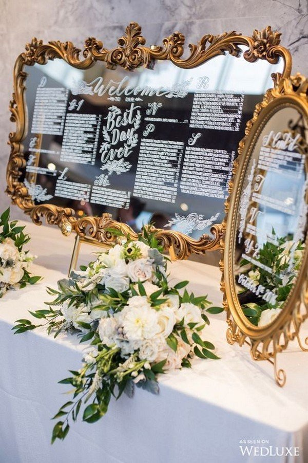 20 Trending Wedding Seating Chart Decoration Ideas  Oh Best Day Ever