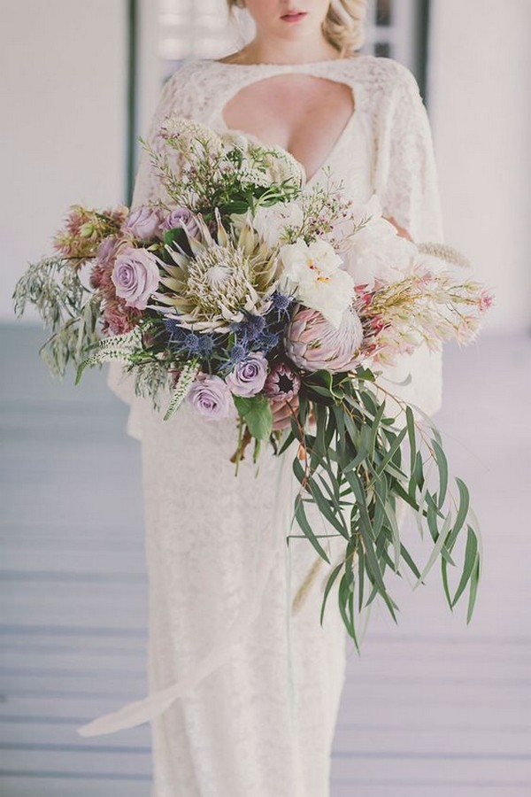 2019 Trending25 Amazing Proteas Wedding Bouquets  Page 3