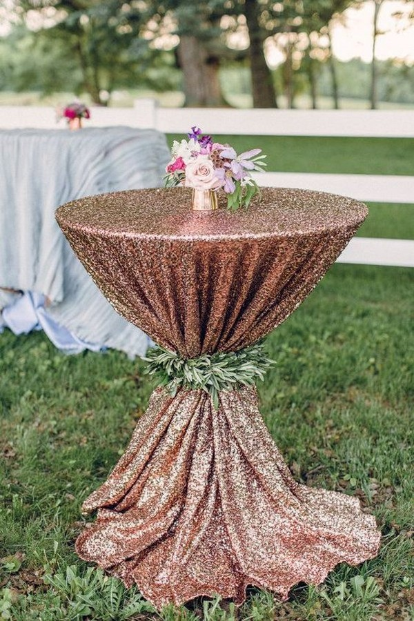 20 perfect wedding cocktail table