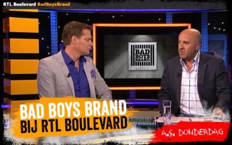 BadBoysBrand bij RTL Boulevard