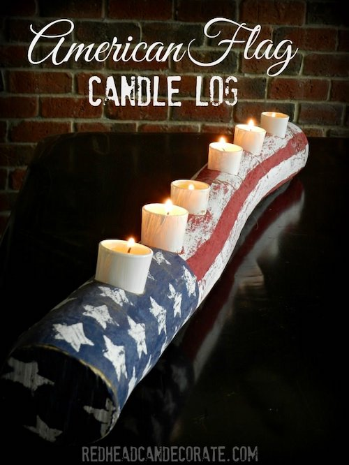DIY American Flag Candle Log. Paper Star Lights Garland. 10 Easy 4th of July Crafts to Make in 2018. Fourth of July is the perfect time to do some DIY projects to celebrate America! Make your house look patriotic with these simple red white and blue crafts. You can find 4th of July wreaths, centrepieces, firecrackers and all other 4th of July decor here. Most of these 4th of July crafts can be made by kids and toddlers. 4th of July crafts kids, 4th of July Crafts DIY, 4th of July crafts preschoolers #4thofJulycrafts