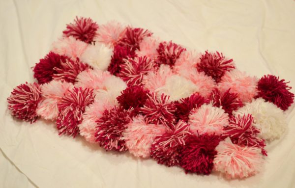 Simple Pom-Pom Rug by Simplify Create Inspire - 14+ Easy DIY Crafts To Sell That Are Cheap To Make & Creative. These awesome project ideas can be sold on Etsy and at craft fairs and craft markets. Try these unique crafts that make money today and make extra money from home!
