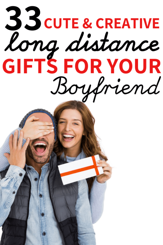33 Cute Gifts For Long Distance Boyfriend (To surprise your