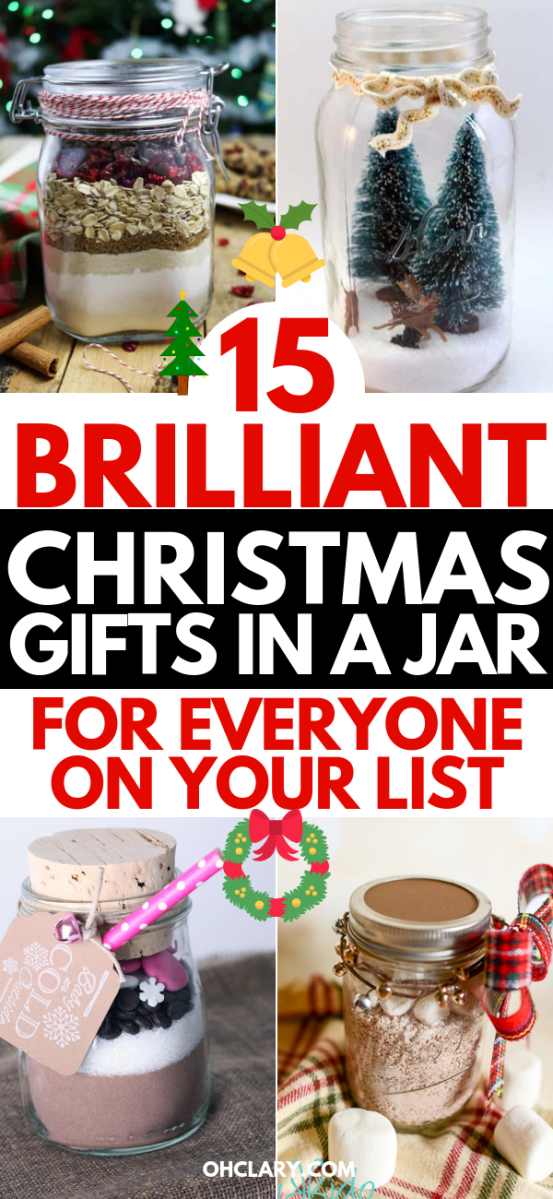 15 Diy Christmas Gifts In A Jar Best Mason Jar Christmas Gifts For