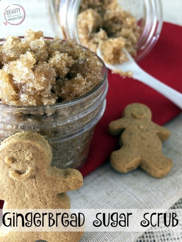 Gingerbread Sugar Scrub - 15 Mason Jar Christmas Gifts for Coworkers, friends, teachers, and family. Most of these DIY Christmas gifts in a jar are super cheap and easy to make! Perfect gift idea for women and men alike. Homemade recipes for edible gifts. Most of these recipes come with printable labels which makes it super quick to do! Have a stress free Christmas on a budget in 2018!