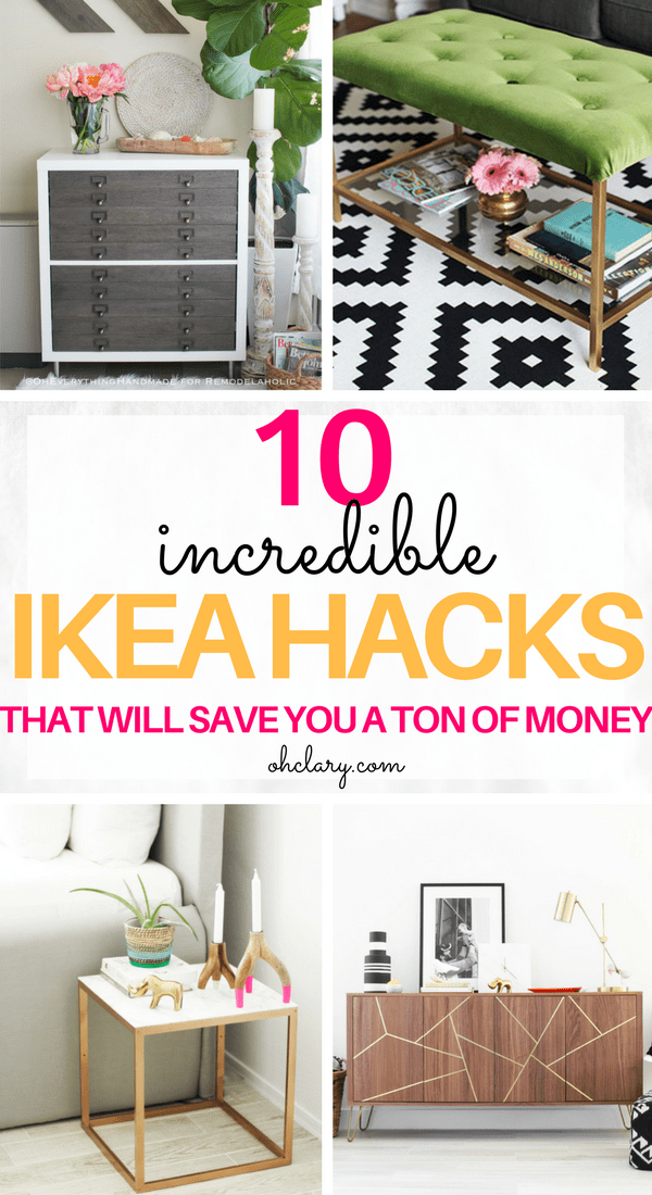 transforming ikea furniture. These 10 DIY IKEA Hacks Will Save You So Much Money On Your Furniture! Find Transforming Ikea Furniture