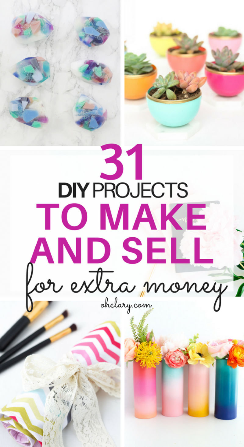 Hot Craft Ideas to Sell - The Ultimate List of 30+ Items to Make and Sell for Extra Cash. Selling your crafts can be very profitable. If only you knew what to make that people would actually pay money for! I have an ultimate list of 30+ hot craft ideas to sell to help you out! This list will be sure to help you find that something you have been looking for that you can DIY for a profit! Hot craft ideas to sell | Handmade craft ideas to sell | DIY craft ideas to sell | easy craft ideas to sell | craft ideas to sell for kids