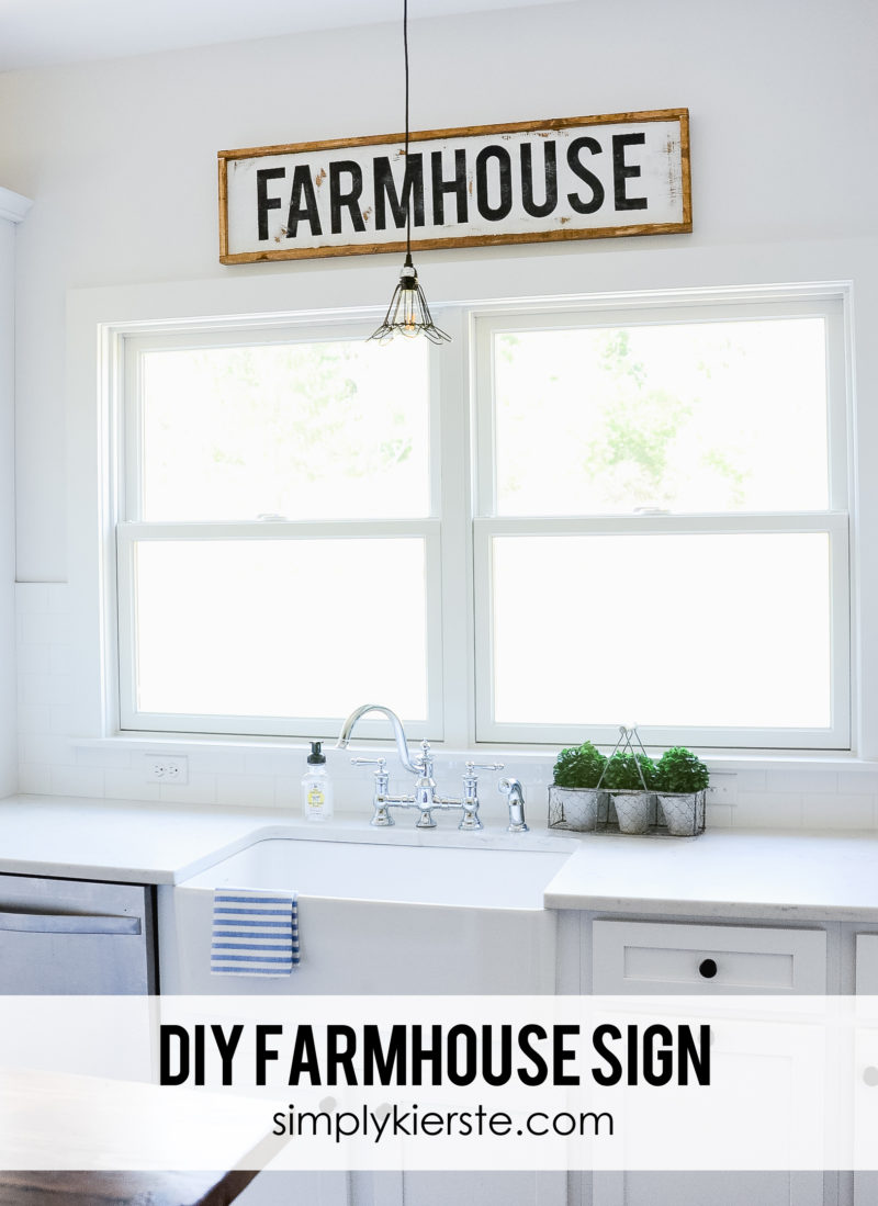 DIY Framed Farmhouse Sign. 14 DIY Farmhouse Signs you can make on a small budget. Farmhouse decor can cost a lot but these rustic wood signs are affordable to make. If you love Joanna Gaines than you have to try these projects! Guide to how to make a farmhouse sign, farmhouse signs for kitchen, bathroom farmhouse sign DIY, DIY wood signs, Farmhouse Sign Decor, Make you own farmhouse sign, farmhouse signs DIY guide