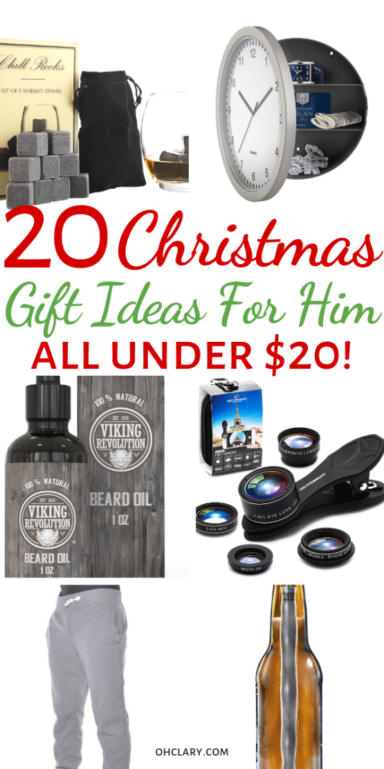 These 20 Gifts For Him Cheap Christmas Or Birthday Perfect As Inexpensive Stocking Stuffers