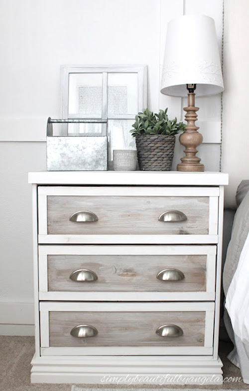 Rustic Ikea Rast Hack - DIY projects with a rustic fixer upper style to create easy ikea farmhouse furniture & decor. These budget friendly decor pieces and ikea hacks are so easy to create with just a few items. Try a Ikea farmhouse hack today to completely change the look of your bedroom, kitchen, entryway and living room.