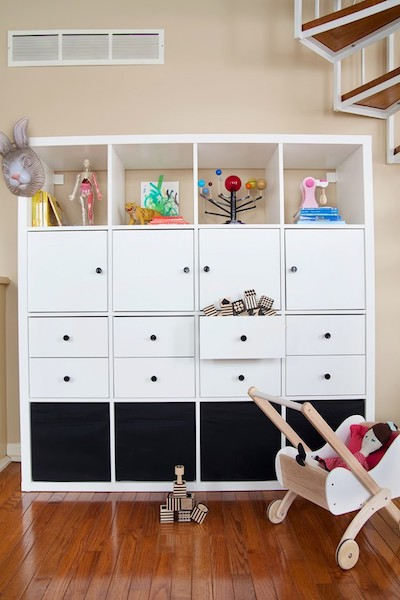 Quick And Convertible Toy Storage Hack
