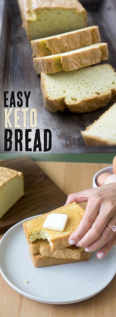 Easy Keto Bread #lowcarb #ketobread # #lowcarbsnack #lowcarbbread #lowcarbrecipes #keto #bestketobread