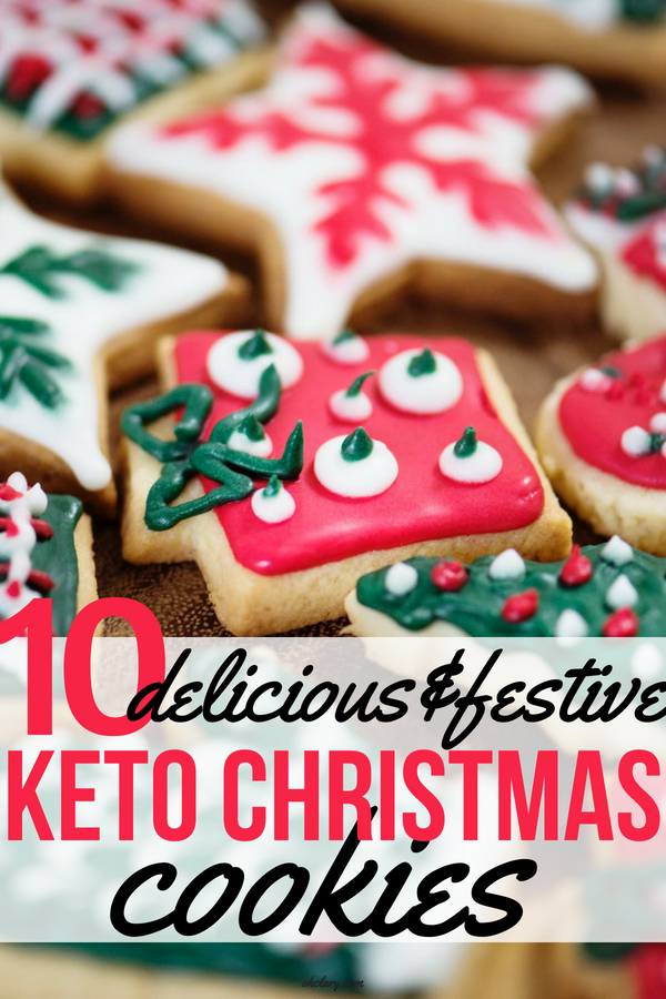 10 MUST TRY Keto Christmas Cookies Your Whole Family Will Love. Made with almond flour, stevia, cream cheeses and peanut butter. They are so easy anyone can do them. No baking experience needed. These keto cookies are what dreams are made of! #keto #ketogenic #ketodesserts #lowcarb #christmas #christmascookies