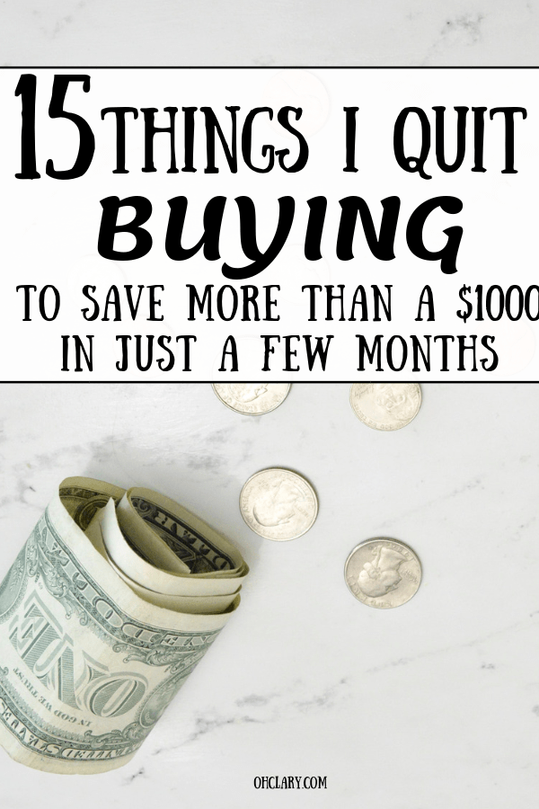 These frugal living tips are great!! SAVING MONEY can be as easy as buying less stuff that you don't need! Are you wasting money on these stupid purchases without even thinking about it? Find out now! #savingmoney #savingmoney #getoutofdebt #frugalliving