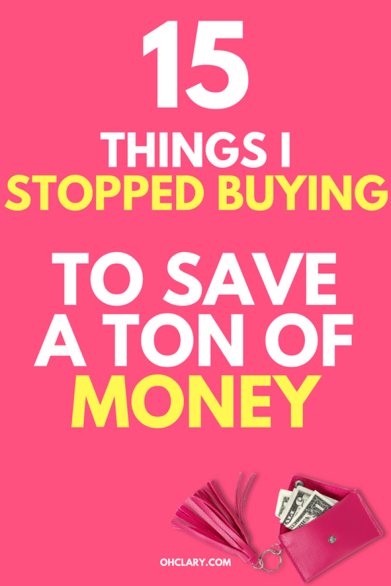 Wow I wish I knew these great Ideas and tips on things to stop buying useless things to save your money in your 20s fast earlier. It's easy to be broke as a millennial but there are so many useless things you can stop buying to save my money for a house, a car or a vacation instead. Dave Ramsey approved money saving hacks. #savemoney #millenianmoney #savingmoney #financialfreedom #getoutofdebt #frugalliving