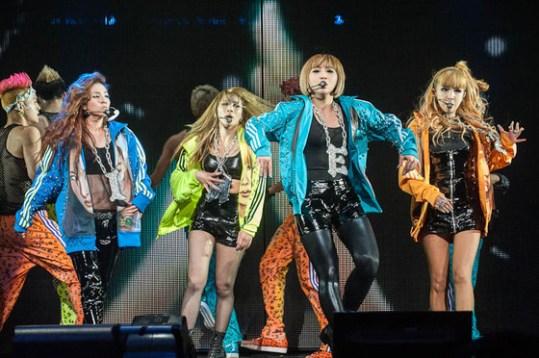 2NE1′s New Evolution Tour in LA