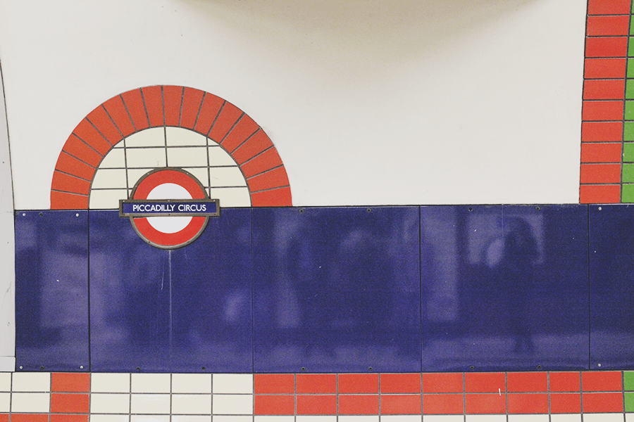 London Underground - Piccadilly Circus