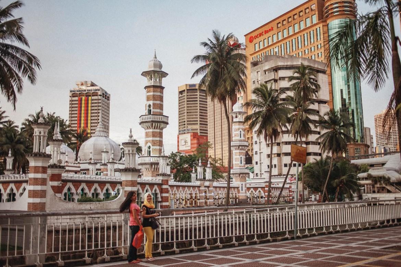 Nationalmoskén i Kuala Lumpur // Masjid Negara