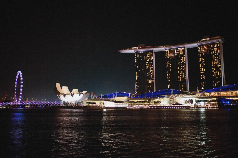 En weekend i Singapore