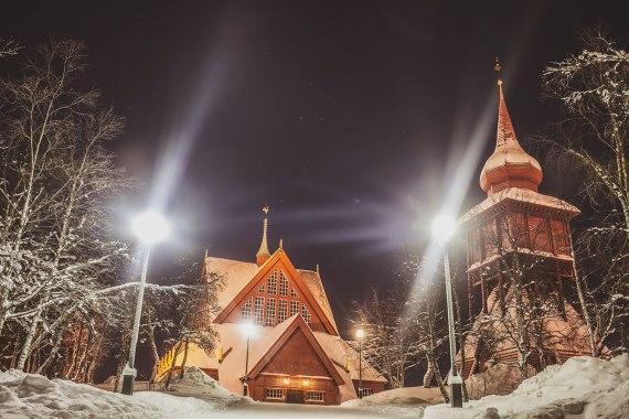 Kiruna kyrka - en av Sveriges vackraste byggnader