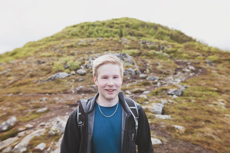Jimmy i Lofoten, Norway