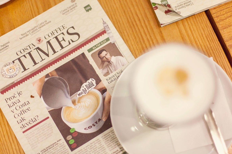Costa Coffee Prague