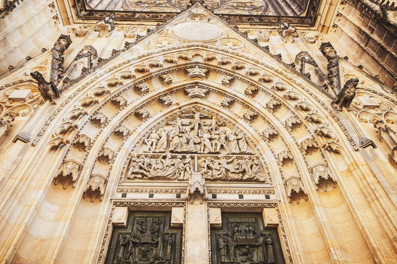 St. Vitus Katedralen i Prag