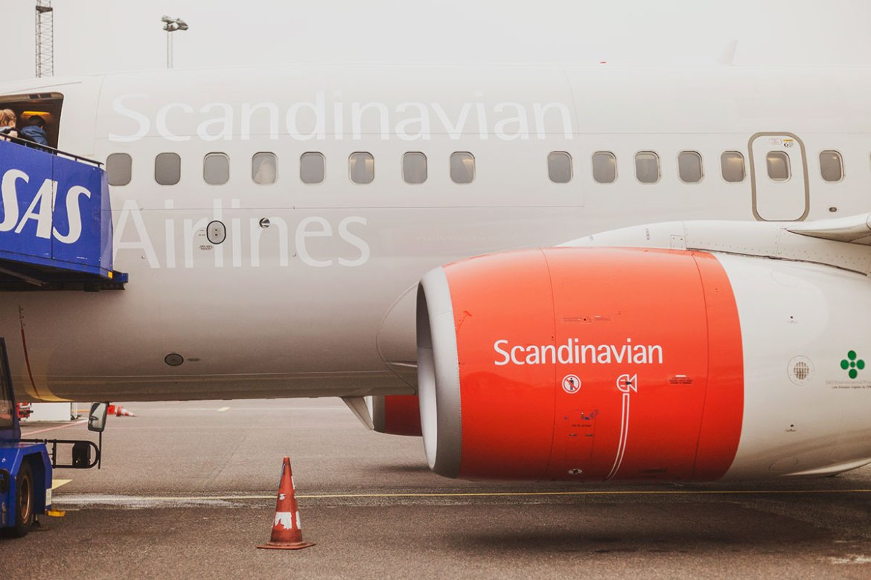 Fly SAS // Hej Tyskland!
