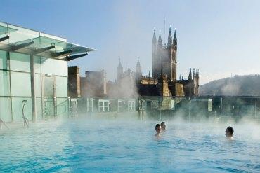 En dag på spa i Bath