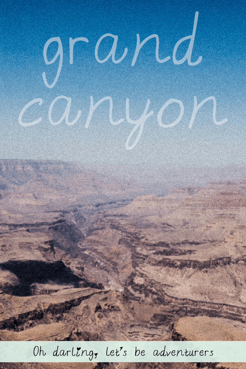 Grand Canyon - when reality doesn't meet expectations