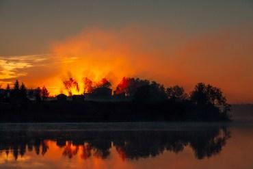 En spontan resa hem till Mertajärvi
