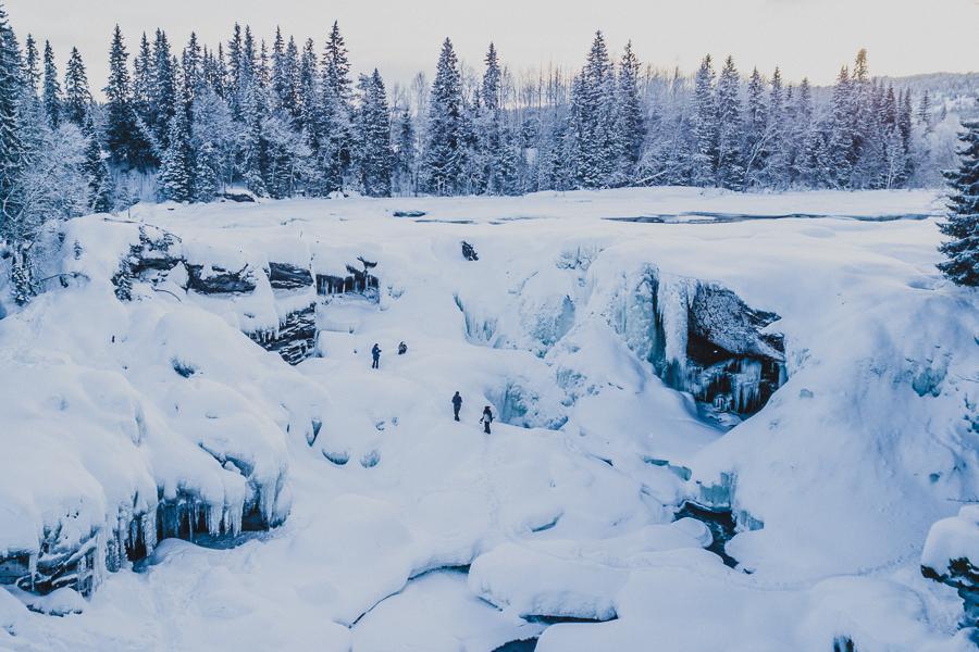 Ristafallet Åre Jämtland
