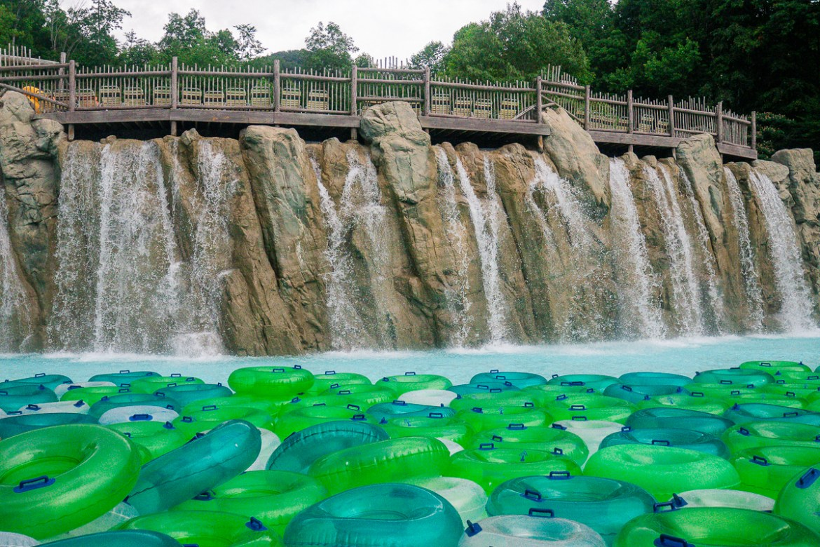 Dollywood's Splash Country, Tennessee.