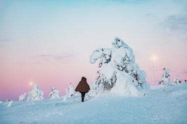 Snapshots från Levi, Finland