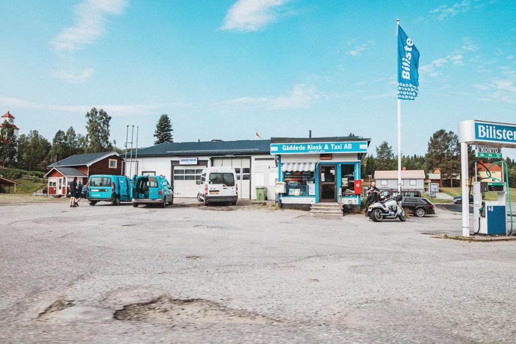 Gäddede Vildmarksvägen Jämtland