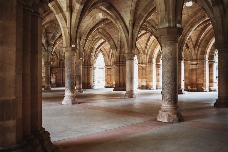 The Cloisters (vid Glasgow Uni)
